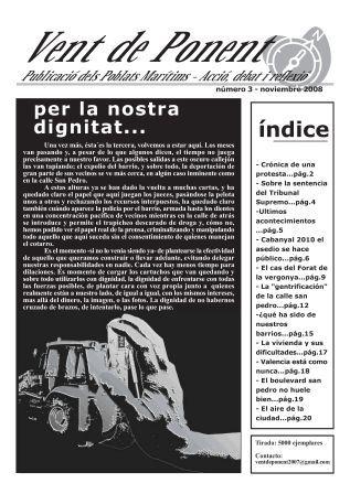 Vent de Ponent. Revista del Cabanyal