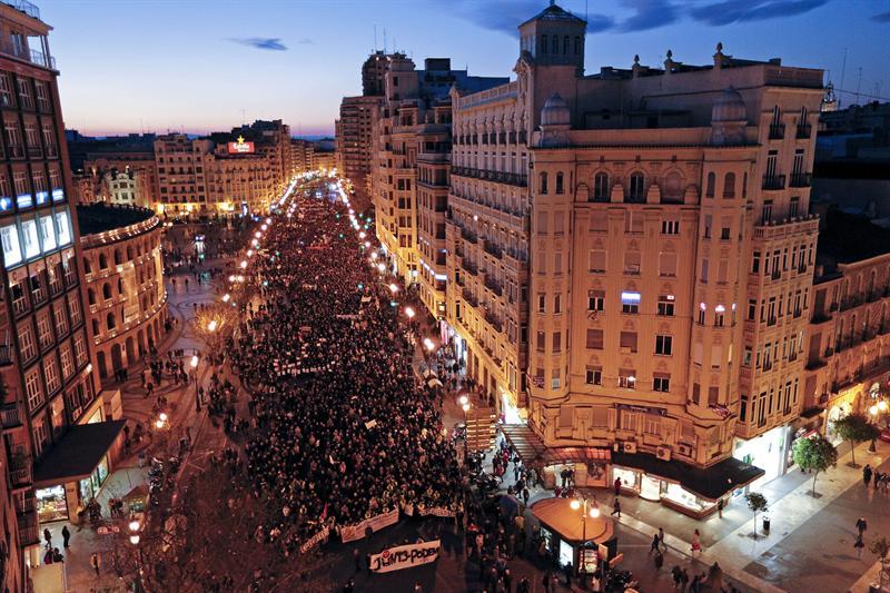 Valencia 23 de Febrero 2013
