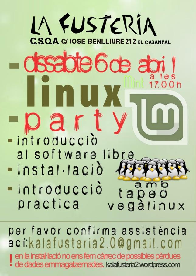 linux party web