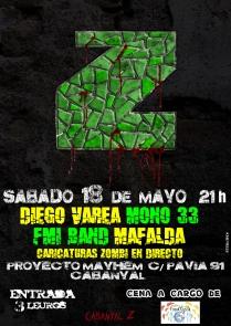 cartel concierto Mayhem Z (1)
