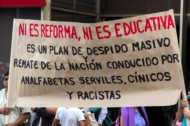 Resultado de imagen de México contra la privatización de su educación