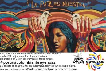 #ColombiaLibreyEnPaz